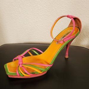 Vintage Via Spiga Vero Cuoio Colored Heels